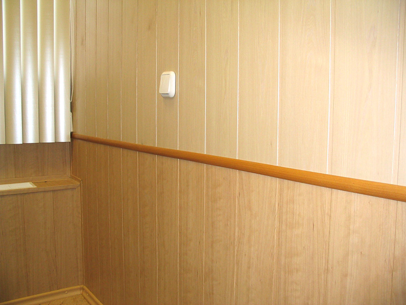 Отделка комнаты панелями мдф