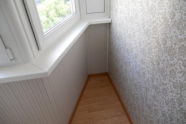 Внутренняя отделка балконов и лоджий под ключ - цена в москв.