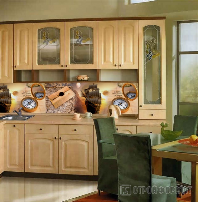 Дизайн кухни мдф фото